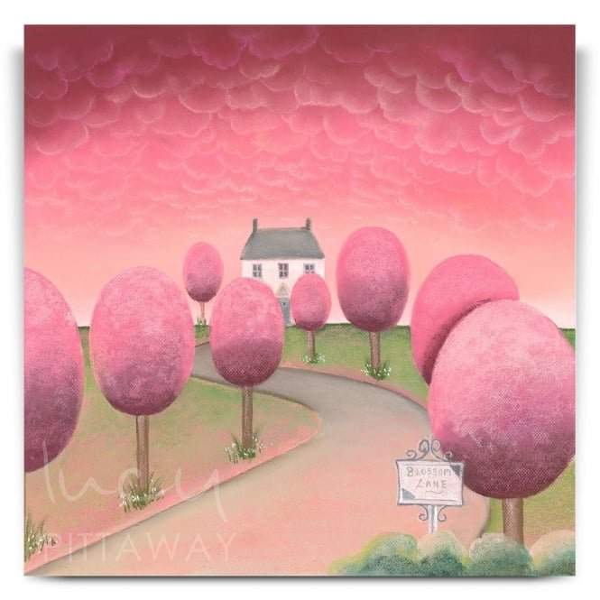 Blossom Lane (Canvas)