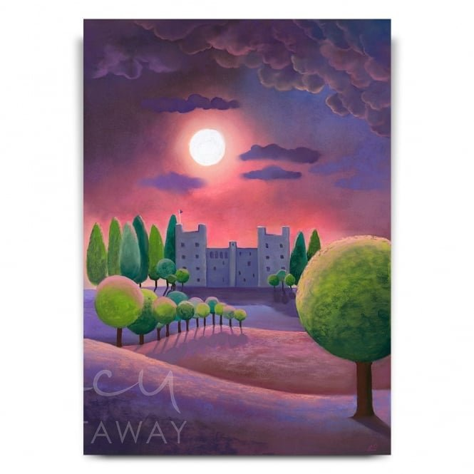 Bolton Castle By Night (Print)