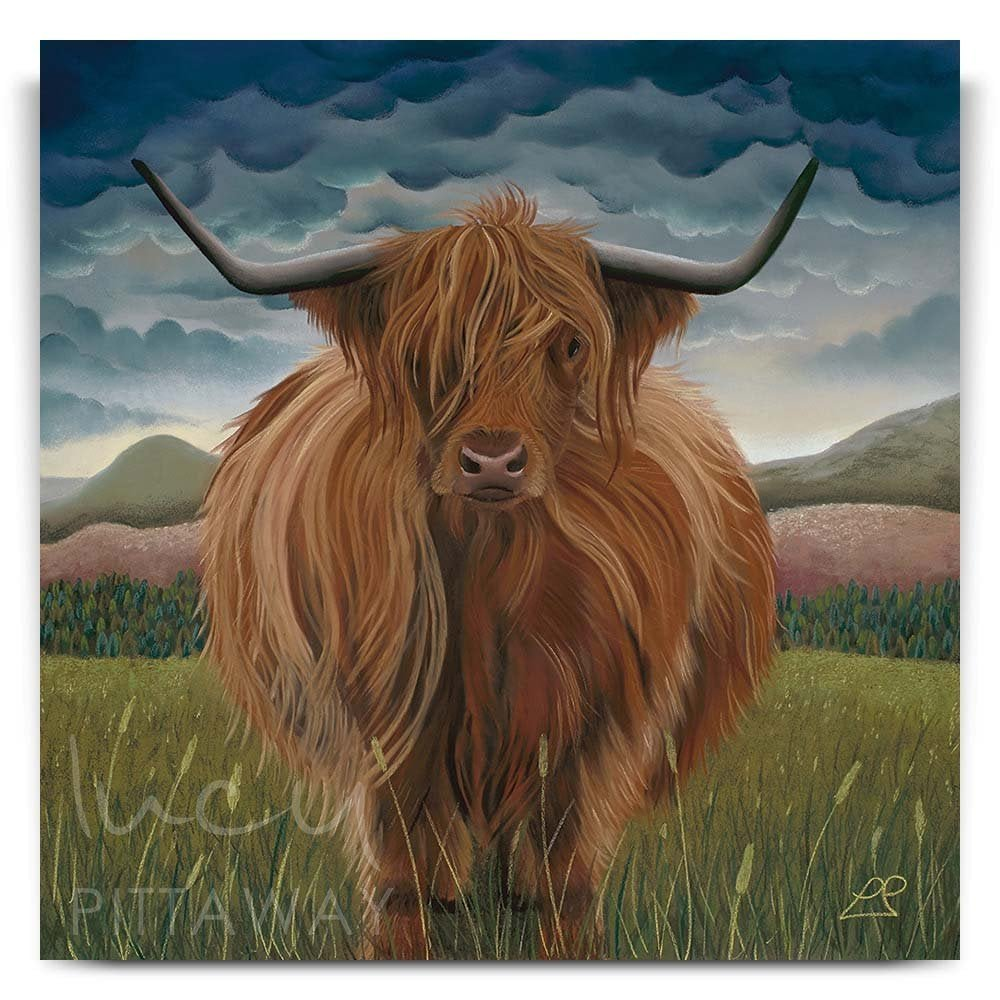 5d3e14d46cd The Cows - Clarissa Print - Lucy Pittaway