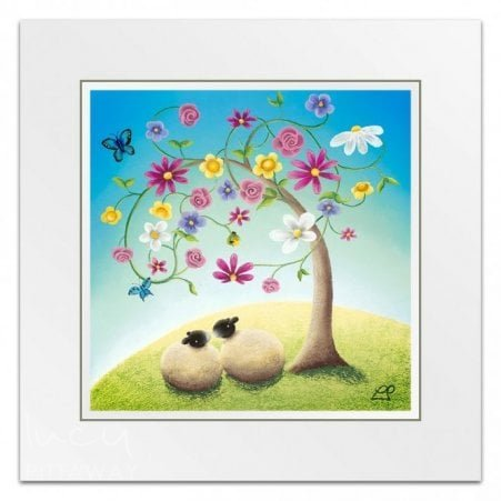 f68a3a52465 Close Friends - Floral Art (Little Print)