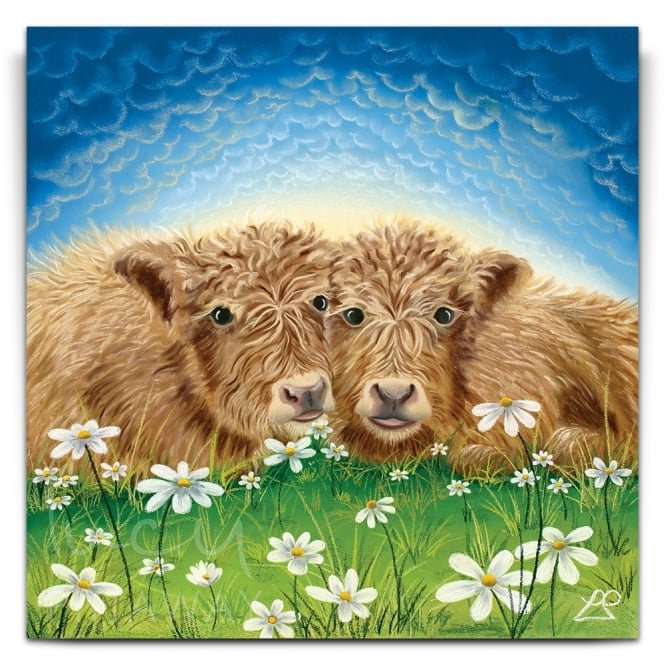 Ginger and Biscuit (Canvas)
