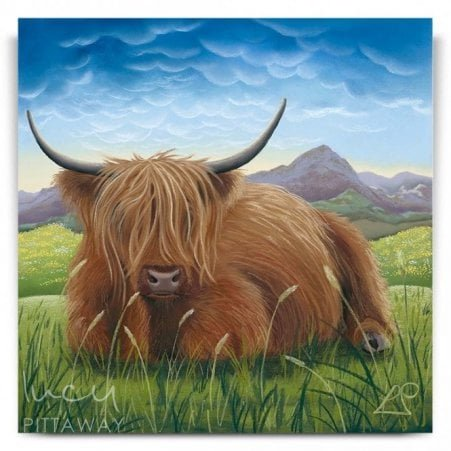 e5ba109ed19 Henry - Highland Cow Art (Canvas)