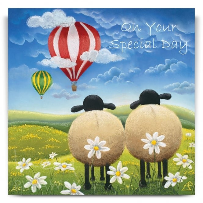 Lucy Pittaway A Cheeky Escape Greetings Card