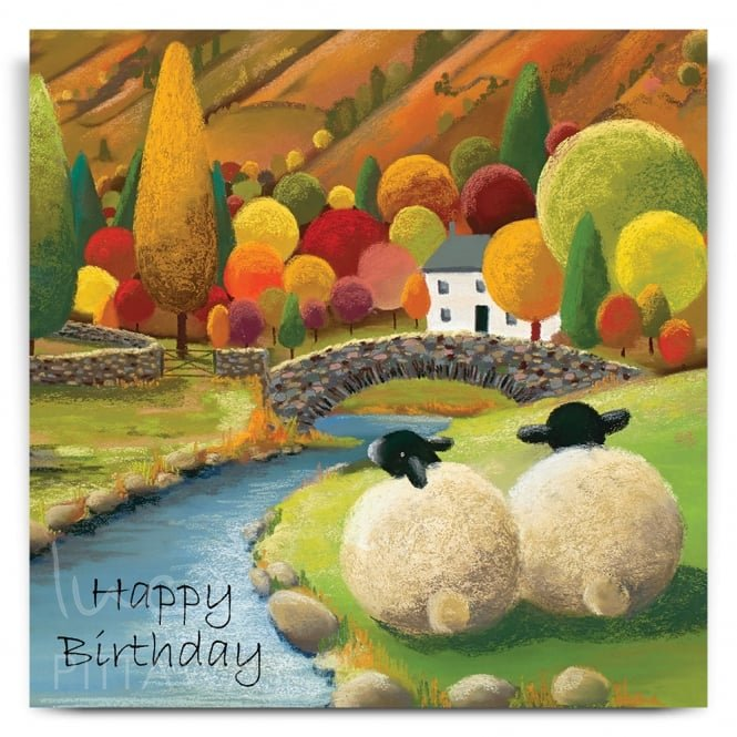 Lucy Pittaway A Perfect Place By The Water Greetings Card