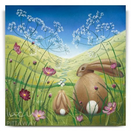 be9ff1613e4 A Whole New World - Hare Art (Canvas). Lucy Pittaway ...