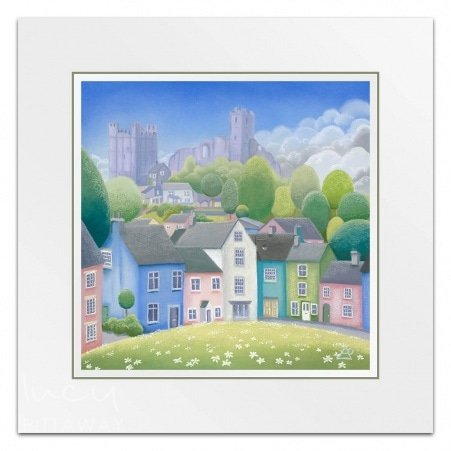 fd1de30db48 Castle In The Clouds (Little Print) · Lucy Pittaway ...