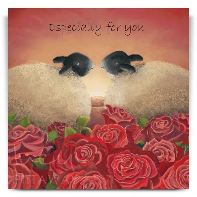 Lucy Pittaway Ewe Are The One Greetings Card