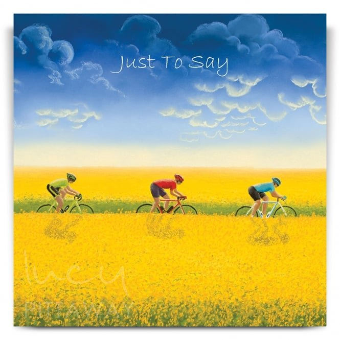 Lucy Pittaway Golden Fields Greetings Card