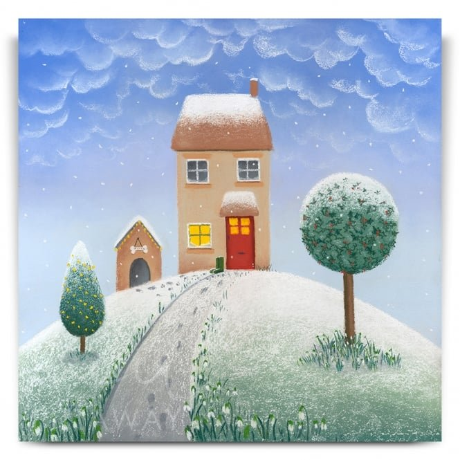 Lucy Pittaway Lovely Winter's Day For A Walk (Print)