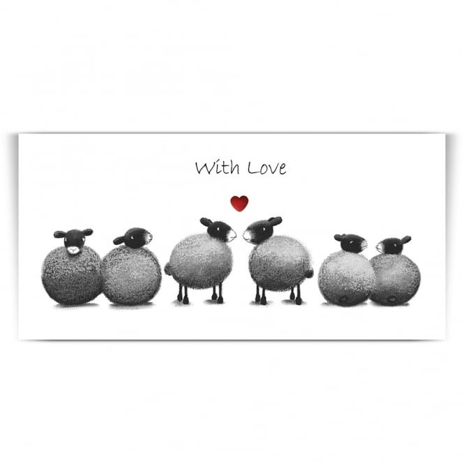 Lucy Pittaway Making Friends Greetings Card