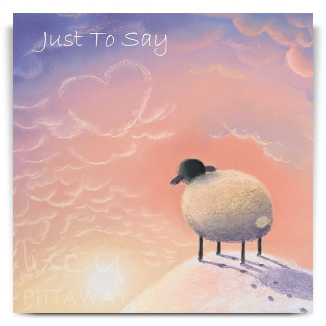 Lucy Pittaway Missing You Greetings Card