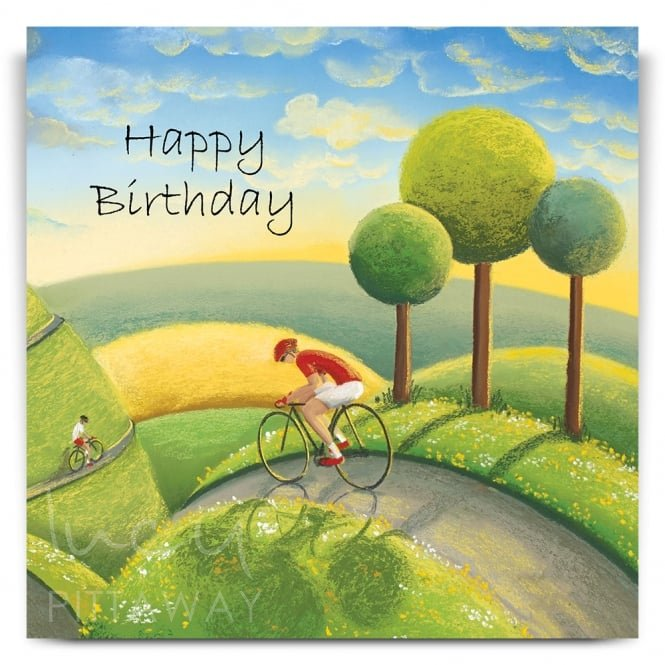 Lucy Pittaway Rolling Through The Dales Greetings Card