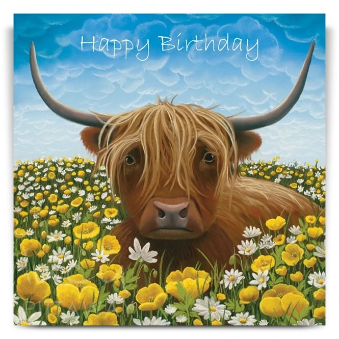 Lucy Pittaway So Mootiful Greetings Card