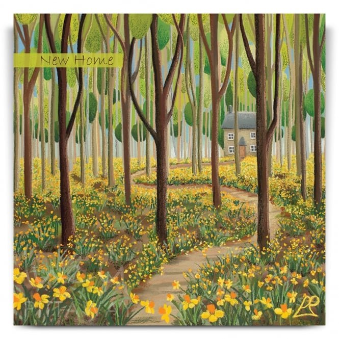 Lucy Pittaway Springtime Retreat Greetings Card