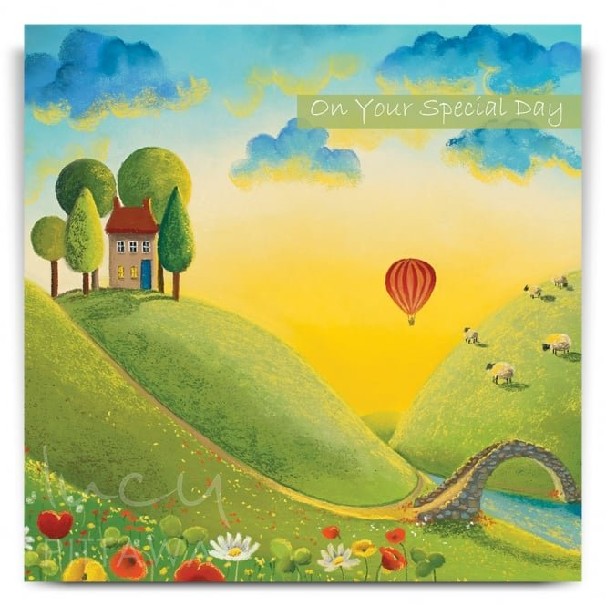 Lucy Pittaway The Journey Begins Greetings Card