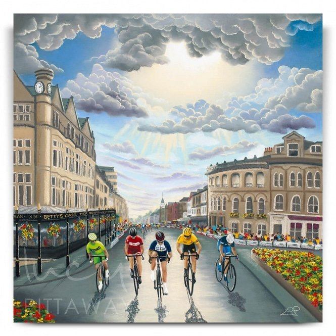 UCI 2019 Road World Championships Yorkshire Canvas)