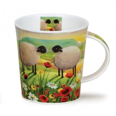 Poppies and Daisies Mug
