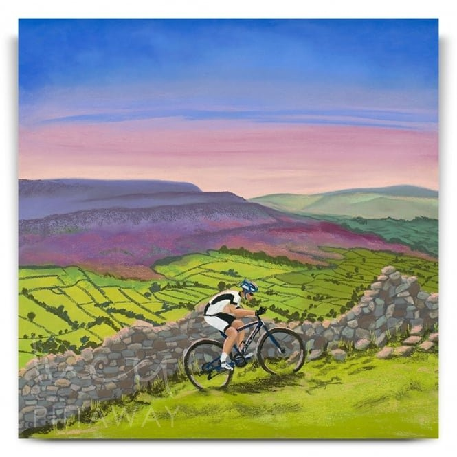 Riding High in Swaledale (Canvas)