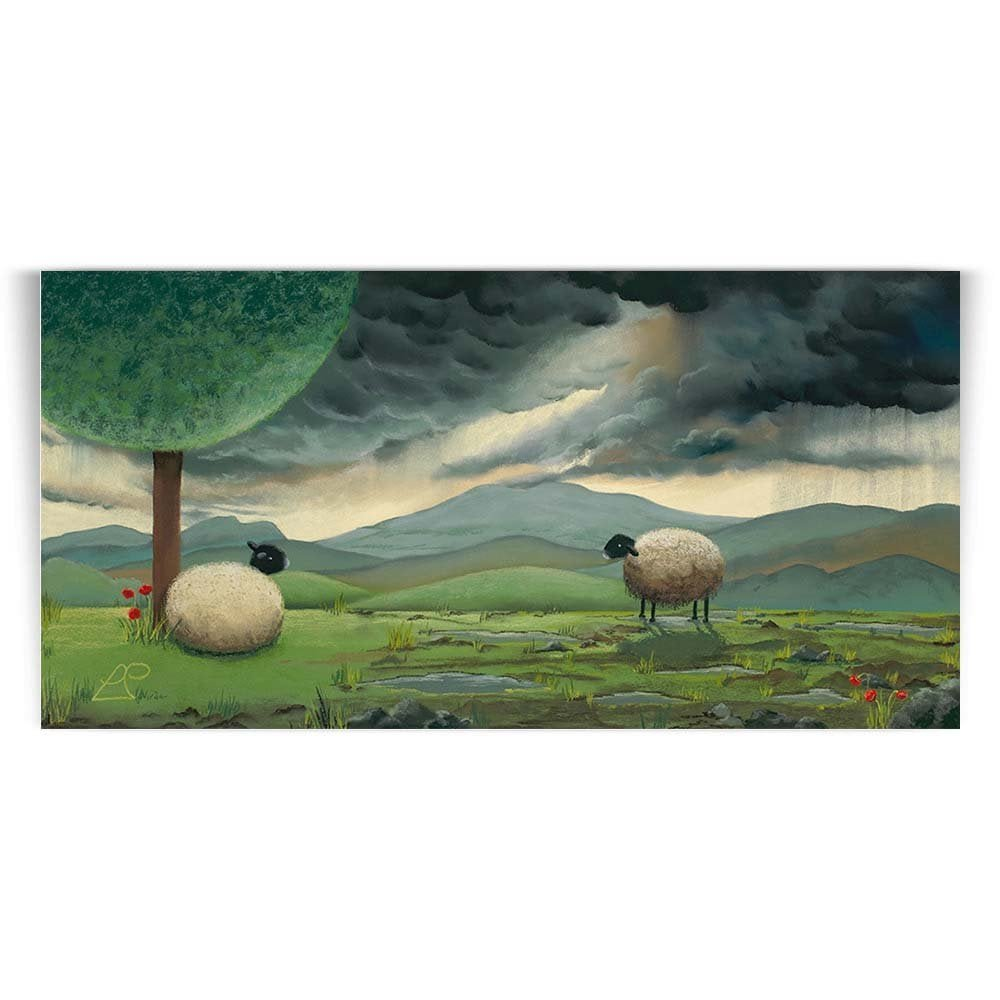 The Sheep Room For A Little One Print Lucy Pittaway