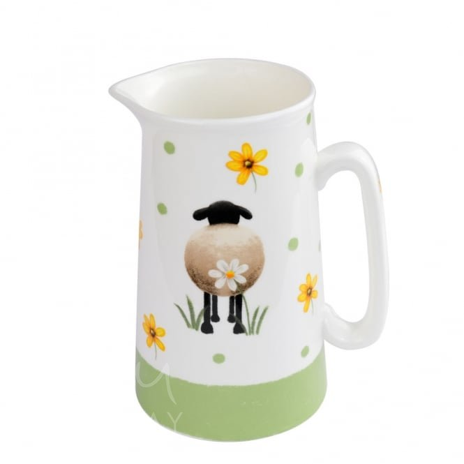 Sheep and Daisy 2 Pint Jug