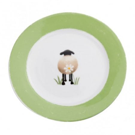 Sheep and Daisy Side Plate