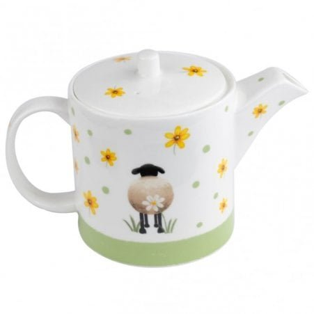 Sheep and Daisy Teapot
