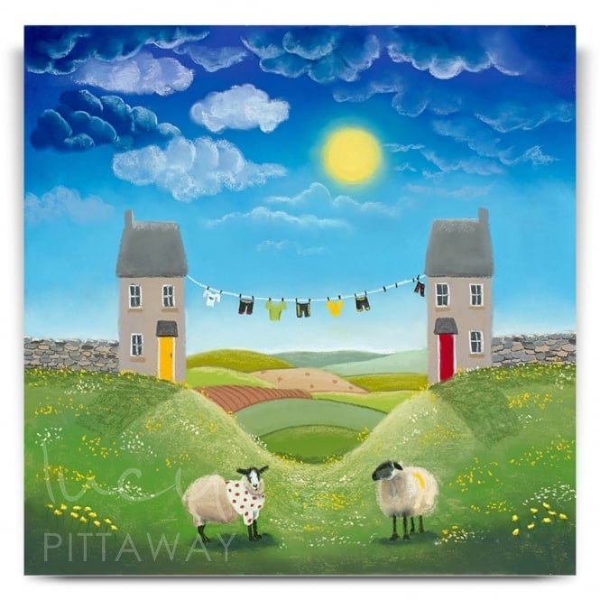 Spot The Sheep (Canvas)