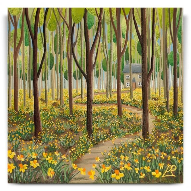 Springtime Retreat (Canvas)