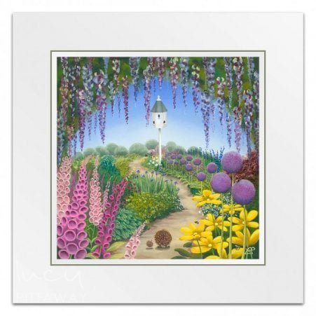 8a5f6fcb2b8 Strolling Home (Little Print) - Floral Art