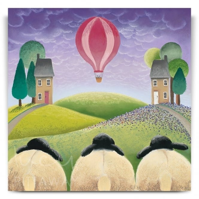 Three Sheeps To The Wind (Canvas)