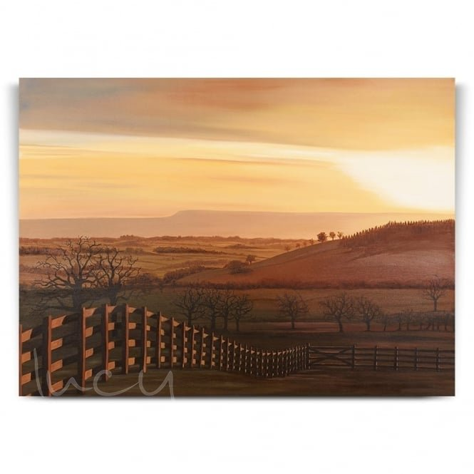 View From High Barn (Print)