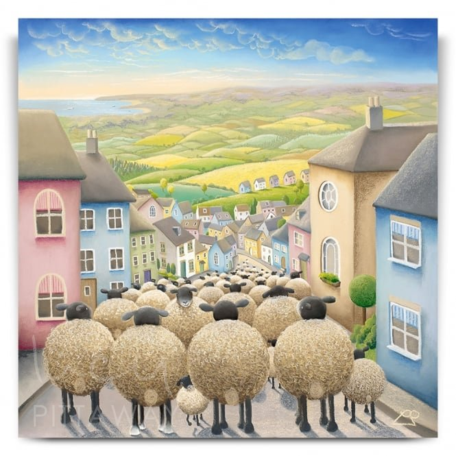Yorkshire Rush Hour (Print)